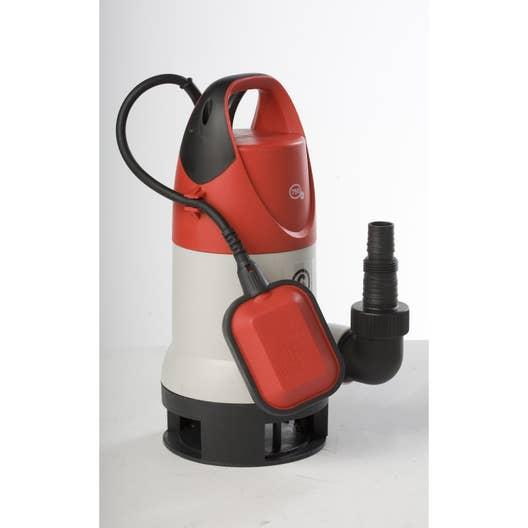 pompe d 39 vacuation eau charg e sterwins 750dw 3 13500 l h. Black Bedroom Furniture Sets. Home Design Ideas