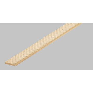 Champlat 1 arrondi en sapin, long. 250cm, section 23x4mm