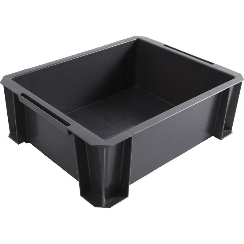 Bac De Manutention Stacking Box Plastique L 35 X P 27 5 X H 12 Cm