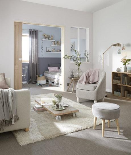 Un bel espace pour le salon