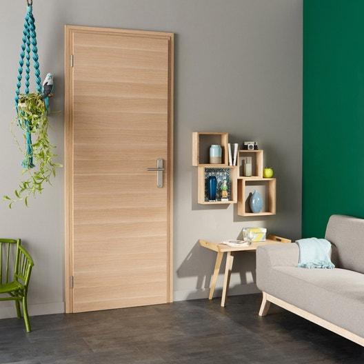 bloc porte r novation easy r no madrid 2 artens x cm poussant droit leroy merlin. Black Bedroom Furniture Sets. Home Design Ideas