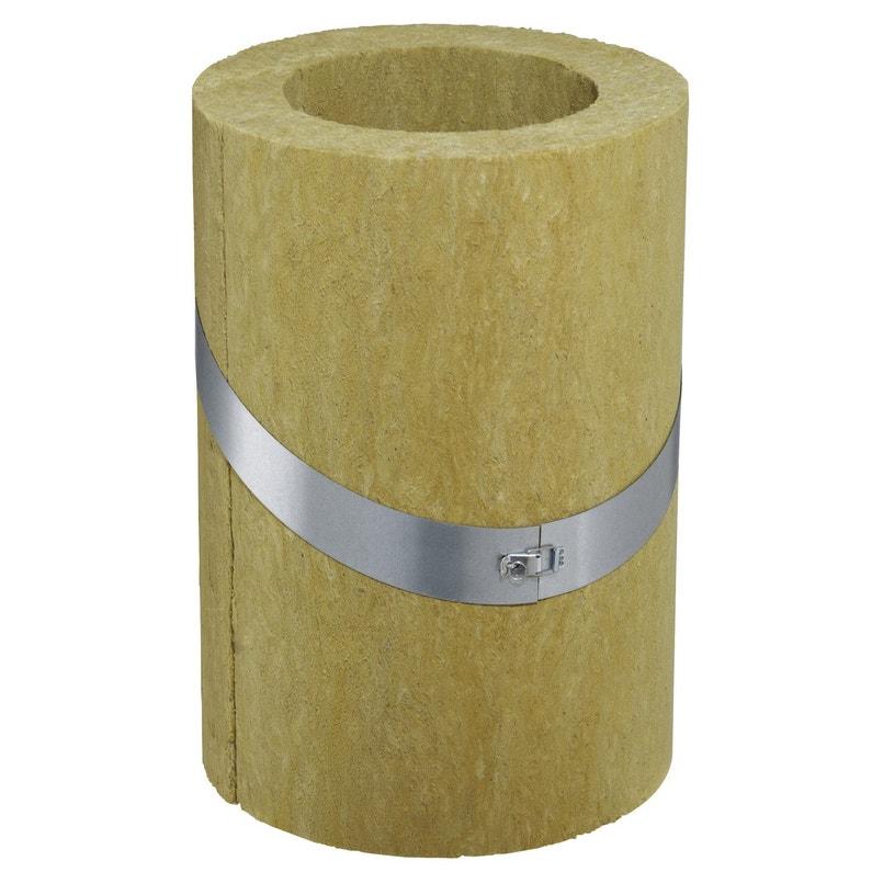 Coquille Isolante Coqisol 100 Pgi 40 Poujoulat D100 Mm 500x300