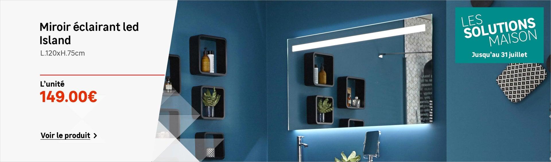 accessoires et miroirs de salle de bains leroy merlin. Black Bedroom Furniture Sets. Home Design Ideas