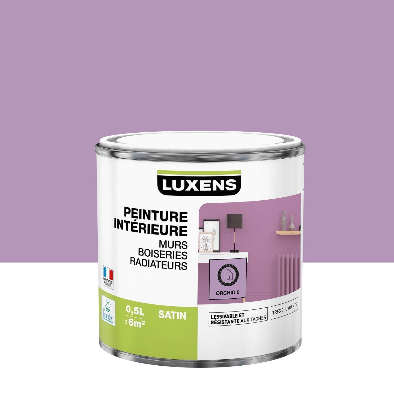 Peinture mur, boiserie, radiateur toutes pièces Multisupports LUXENS, orchid 5,