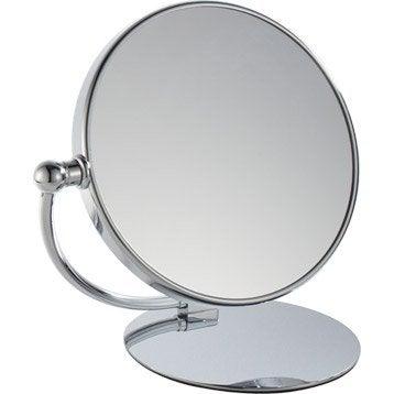 Miroir grossissant miroir de salle de bains leroy merlin - Leroy merlin miroirs ...