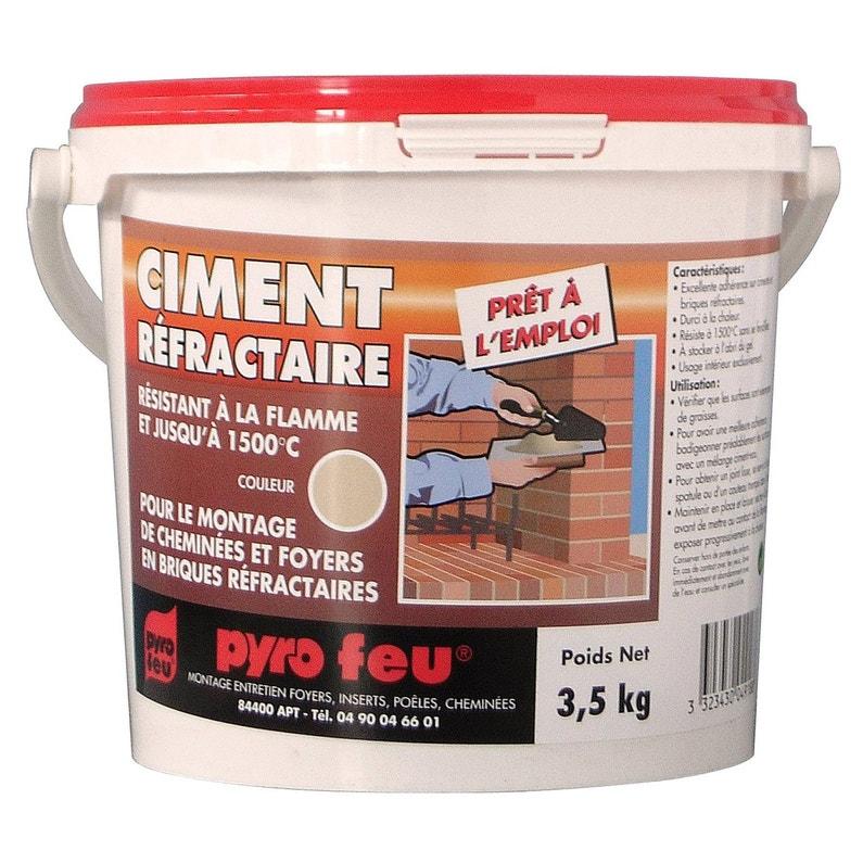 Ciment Réfractaire Pyrofeu 35 Kg