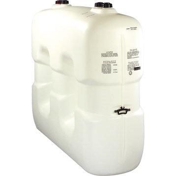 Réservoir à fuel polyéthylène 2000L, blanc, SOTRALENTZ