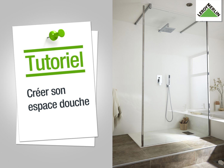 Comment créer un espace douche ?