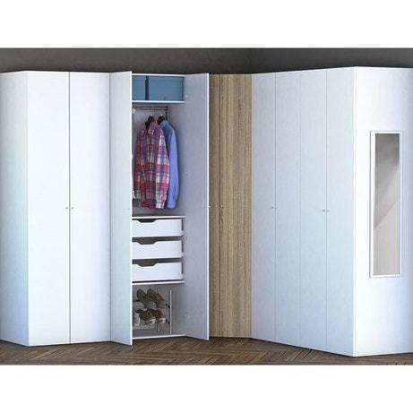 dressing meuble de rangement et biblioth que spaceo home. Black Bedroom Furniture Sets. Home Design Ideas
