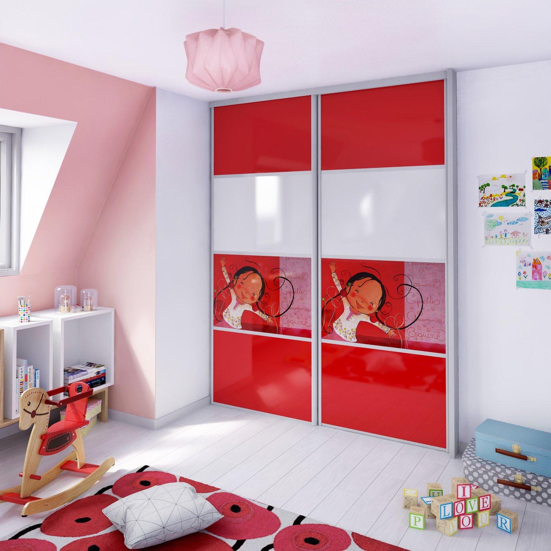 une armoire girly dans la chambre d 39 enfant leroy merlin. Black Bedroom Furniture Sets. Home Design Ideas