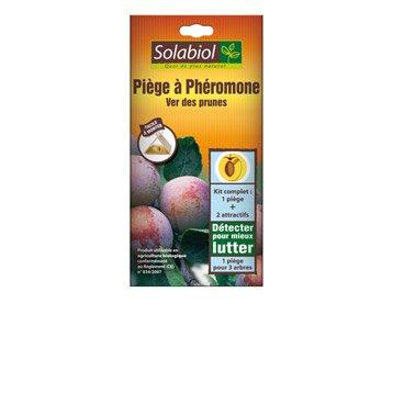 Traitement des insectes fruitiers SOLABIOL, 2 pièges