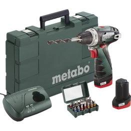 Perceuse sans fil METABO, 10.8 V 2 Ah, 2 batteries