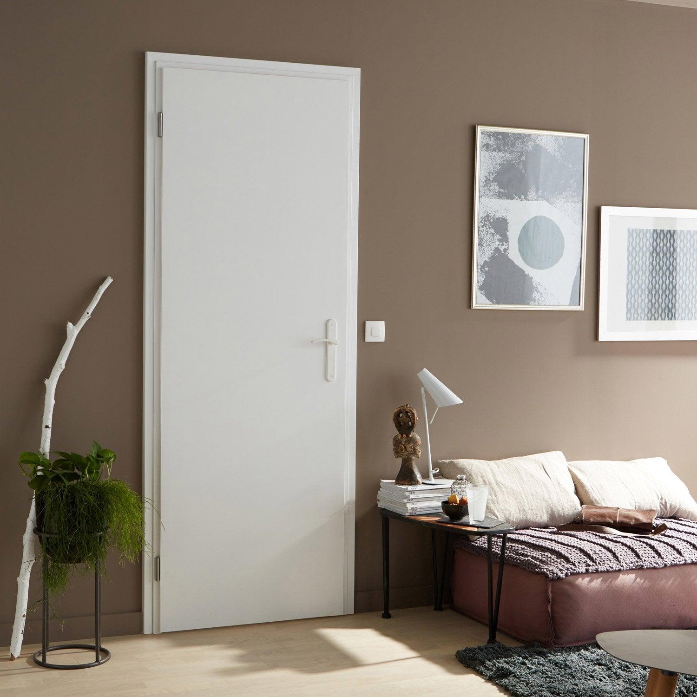 beau Bloc-porte rénovation blanc Easy réno ARTENS, H.204 x l.73