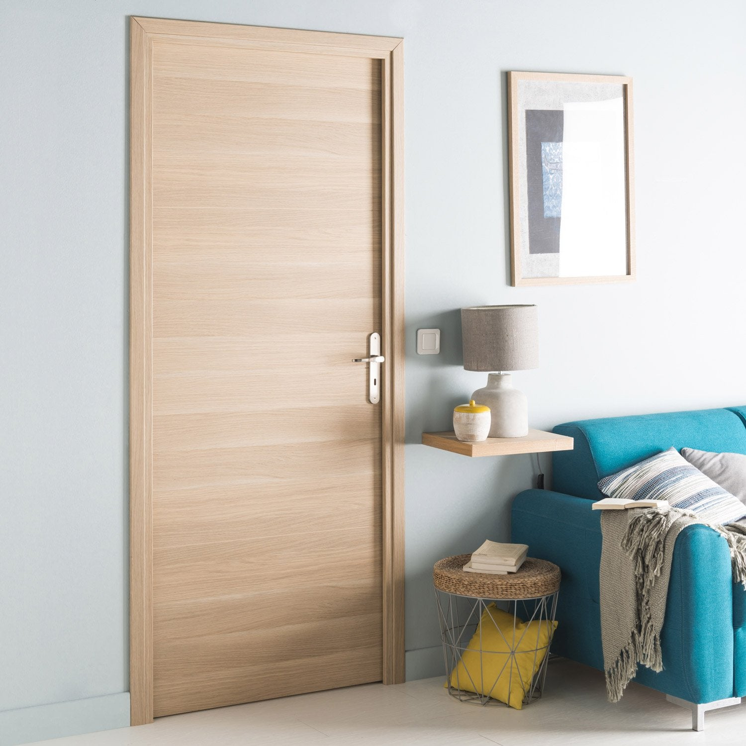 Bloc porte rev tu madrid 2 artens x cm for Interieur 83