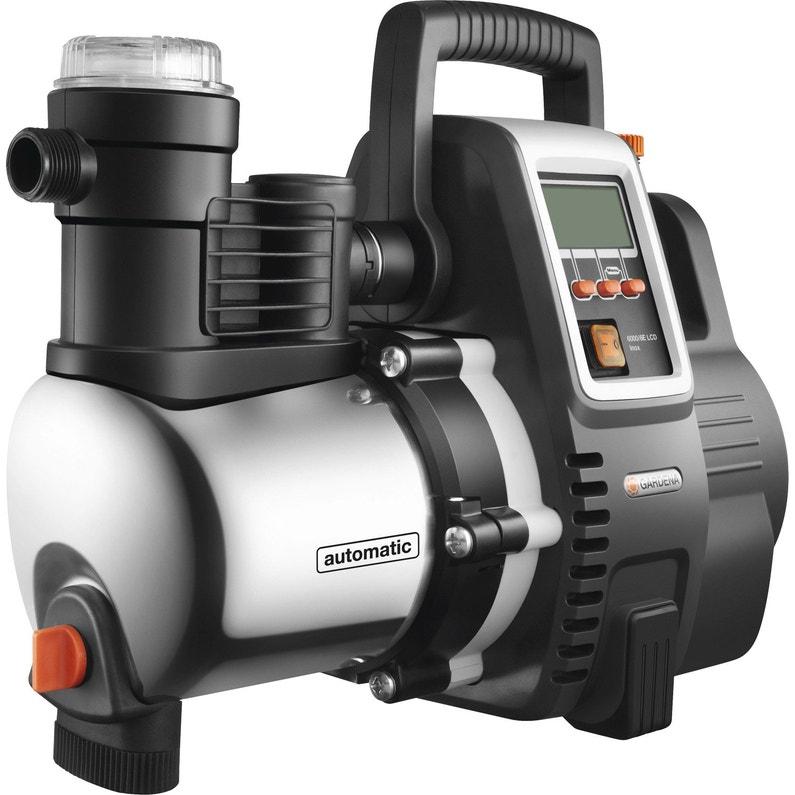Pompe Arrosage Automatique Gardena Premium 6000 6e Lcd Inox 6000 L H
