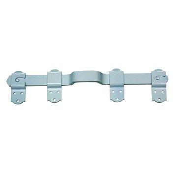 Barre de sécurité en aluminium epoxy pour volets, L.45 cm