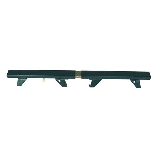 Barre de s curit en acier epoxy pour volets cm for Fenetre un seul vantail