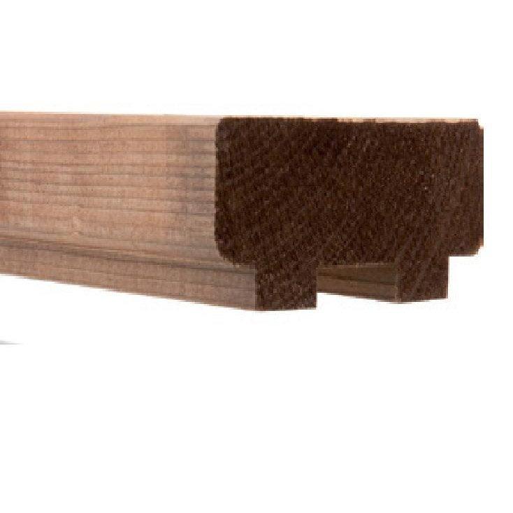 main courante pour main courante moka bois brut x l. Black Bedroom Furniture Sets. Home Design Ideas
