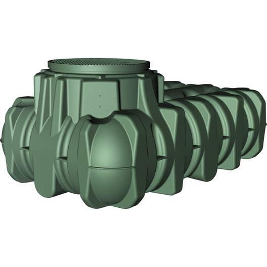 cuve de r cup ration d 39 eau de pluie enterrer extraplate. Black Bedroom Furniture Sets. Home Design Ideas