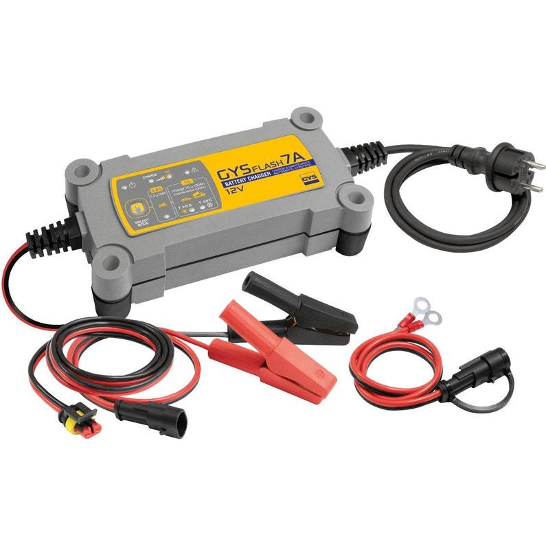 Chargeur De Batterie Gys Gysflash 7a