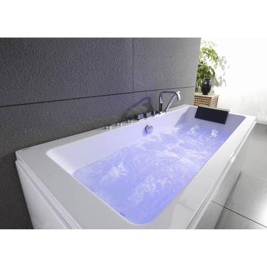 baignoire baln o rectangulaire tablier robi l. Black Bedroom Furniture Sets. Home Design Ideas