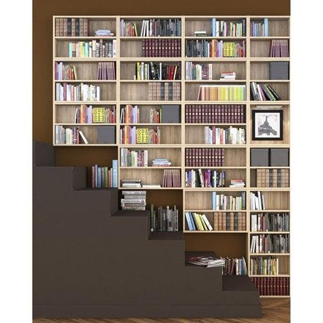Dressing meuble de rangement et biblioth que spaceo home leroy merlin - Bibliotheque leroy merlin ...