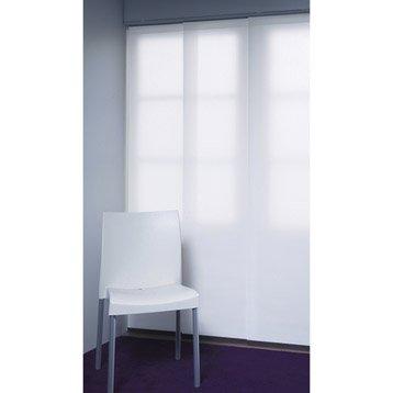 Panneau japonais INSPIRE, Jour / nuit blanc, H.250 x l.50 cm