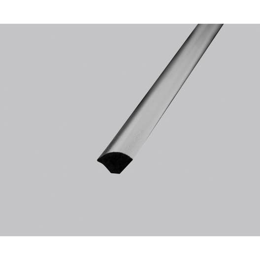 quart de rond pvc mat l 2 5 m x l 1 4 cm x h 1 4 cm leroy merlin. Black Bedroom Furniture Sets. Home Design Ideas