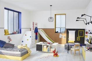 une mini buanderie dans une alcove leroy merlin. Black Bedroom Furniture Sets. Home Design Ideas