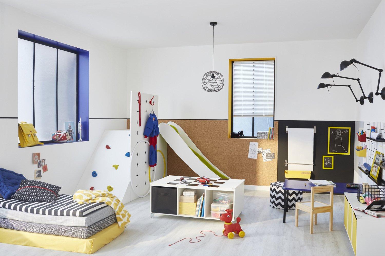 Un terrain de jeu id al dans la chambre d 39 enfant leroy Chambre enfant 3 ans