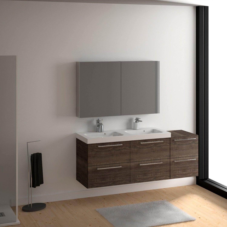 Des wc dans une salle de bains au style vintage leroy merlin for Wc dans salle de bain