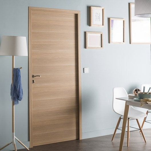 Bloc porte rev tu madrid 2 artens x cm for Porte en chene interieur