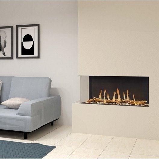 insert au gaz naturel leroy merlin. Black Bedroom Furniture Sets. Home Design Ideas