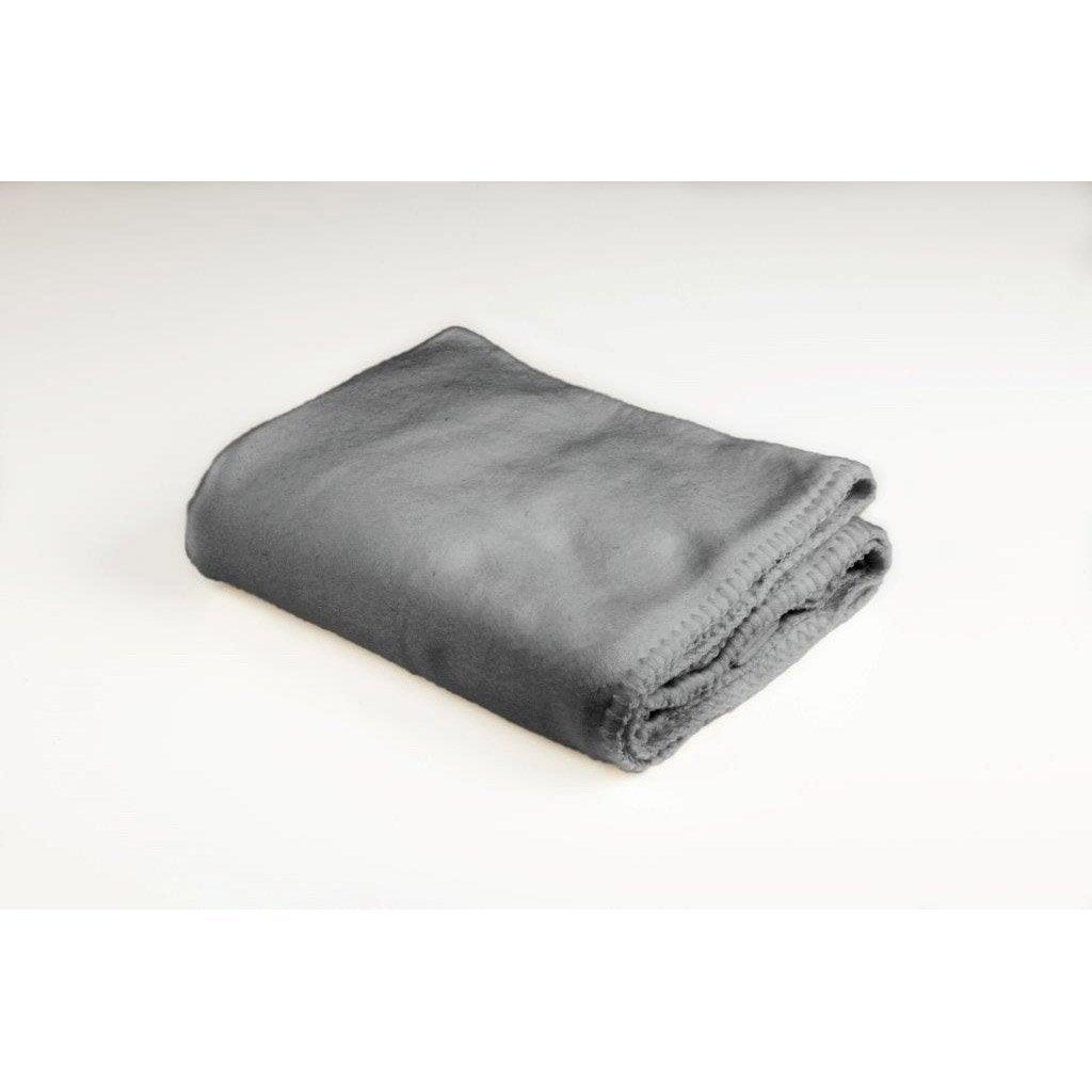Plaid Kyoto, gris l.100 x L.150 cm