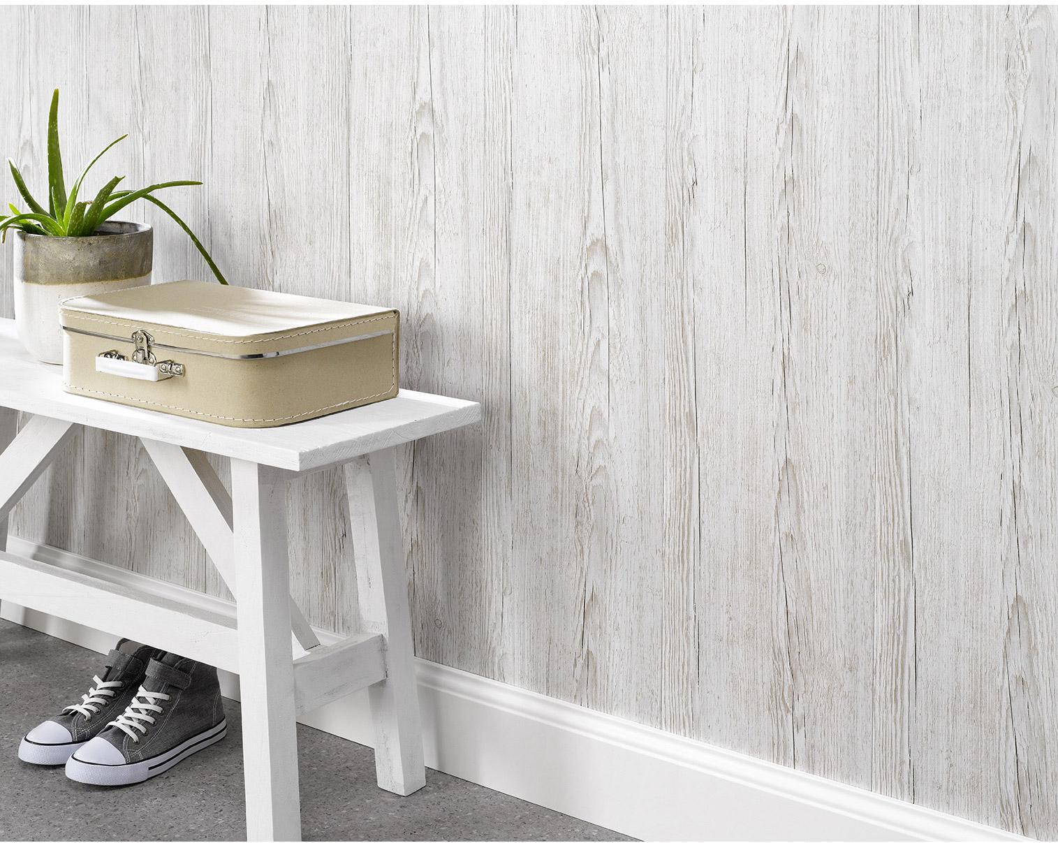 Lambris PVC bois clair texturé DUMAPLAST L.260 x l.25 cm x Ep.10 mm