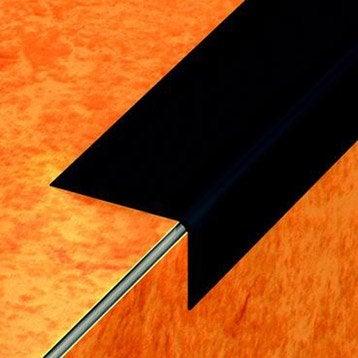 Nez de marche pvc noir L.170 x l.6.5 cm