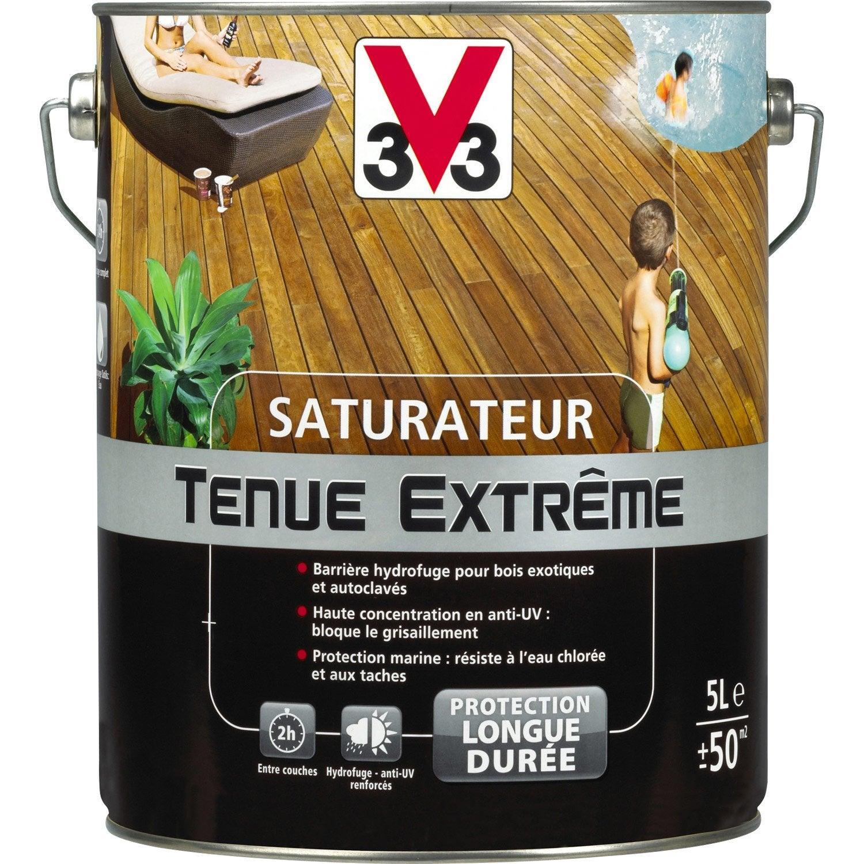 Saturateur V33 Tenue extrême 5 l, incolore | Leroy Merlin