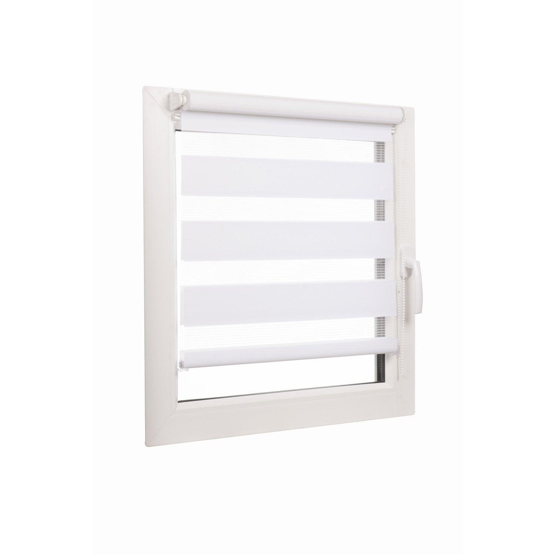 ... Store Enrouleur Jour / Nuit INSPIRE, Blanc Blanc N°0, 71 X 190