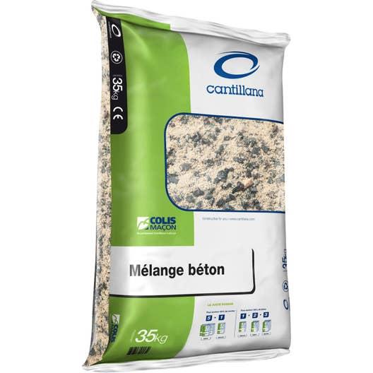 m lange sable 0 4 gravillon 4 20 en sac sac plastique de 35 kg leroy merlin. Black Bedroom Furniture Sets. Home Design Ideas
