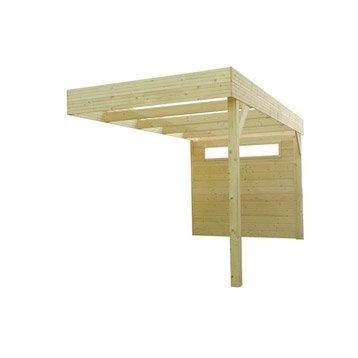 Pergola bois Laitila, 9.26 m² Ep.28 mm
