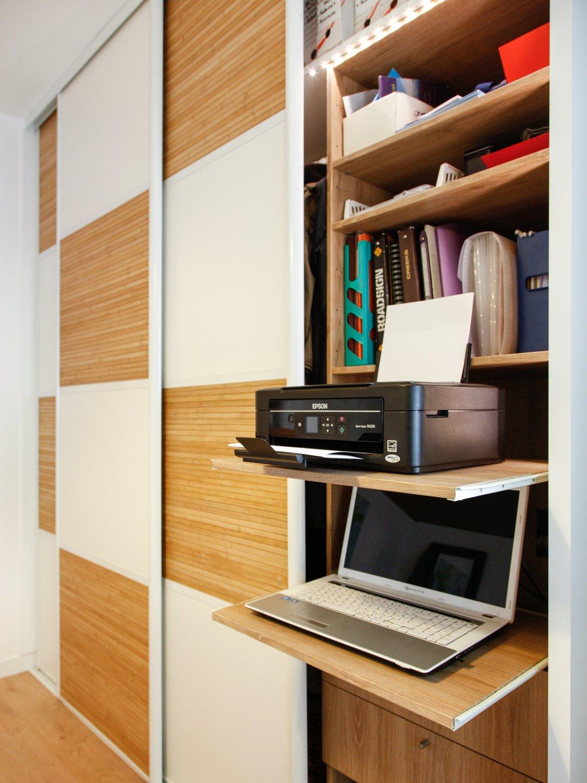 un bureau dans le dressing de b atrice reze leroy merlin. Black Bedroom Furniture Sets. Home Design Ideas