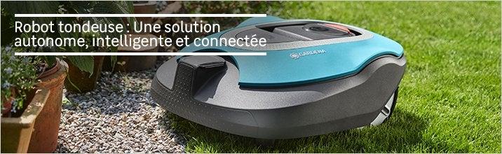 tondeuse robot objet connect tondeuse gazon au. Black Bedroom Furniture Sets. Home Design Ideas