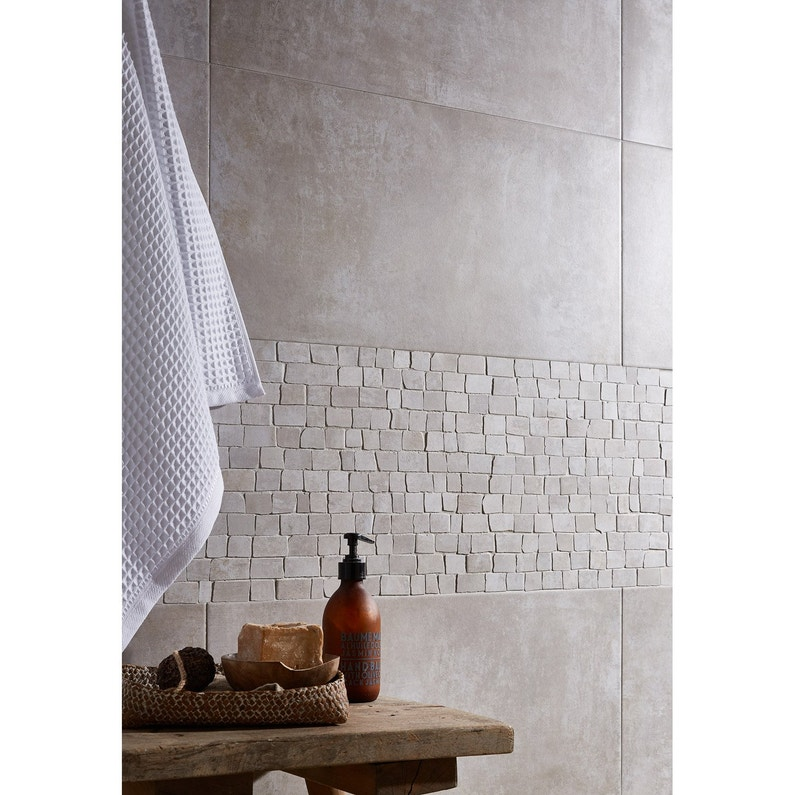 Carrelage Sol Et Mur Blanc Blend L308 X L615 Cm Leroy Merlin