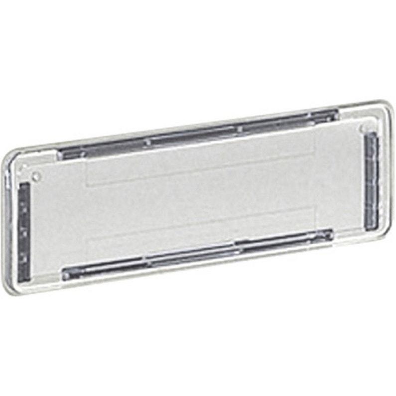 Porte Nom H25 X L10 X P05 Cm Decayeux Transparent