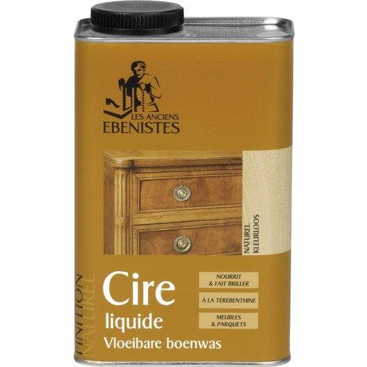 Cire liquide meuble et objets LES ANCIENS EBENISTES, 1 l, incolore