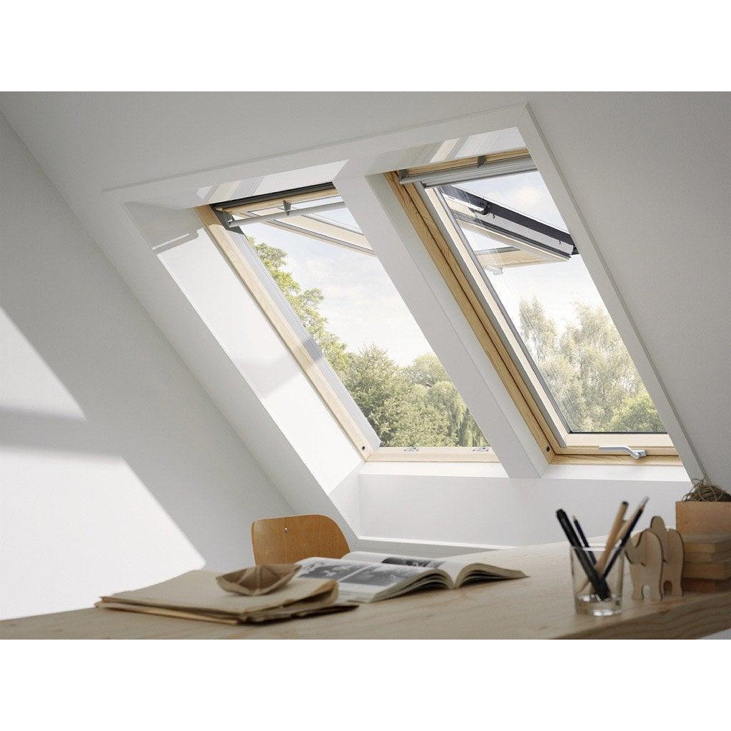 velux gpl mk04 standard par projection x cm leroy merlin. Black Bedroom Furniture Sets. Home Design Ideas