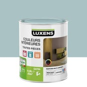 Peinture bleu atoll 6 LUXENS Couleurs intérieures satin 0.5 l