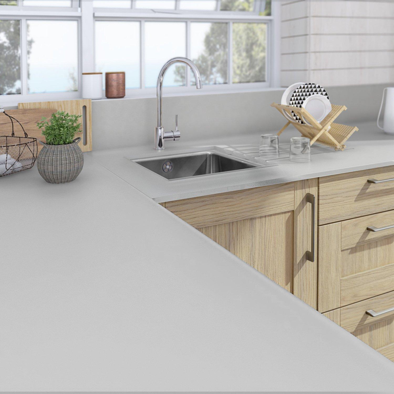 un plan de travail sur mesure pour votre cuisine leroy merlin. Black Bedroom Furniture Sets. Home Design Ideas
