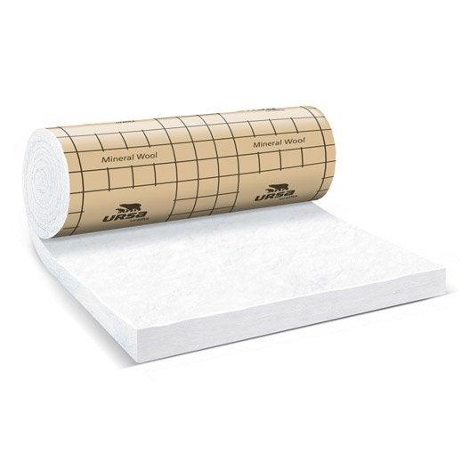 Panneau roul en laine de verre 32 qp pureone by ursa 2 for Laine de verre sans pare vapeur 100 mm