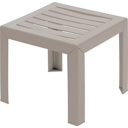 Table basse carree miami grosfillex - Table basse palette leroy merlin ...
